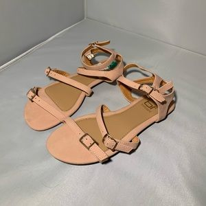 Shoes - Pink gladiator sandal
